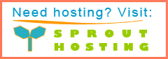 Sprout Hosting Website